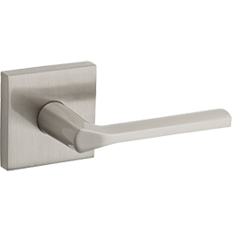 Lisbon passage lever in satin nickel and other levers