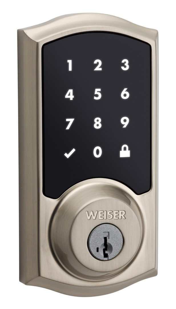 Premis touchscreen electronic lock