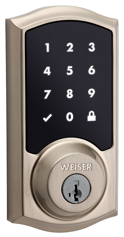 Smart Code 10 touchscreen lock